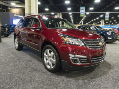 defective 2015 Chevrolet Traverse